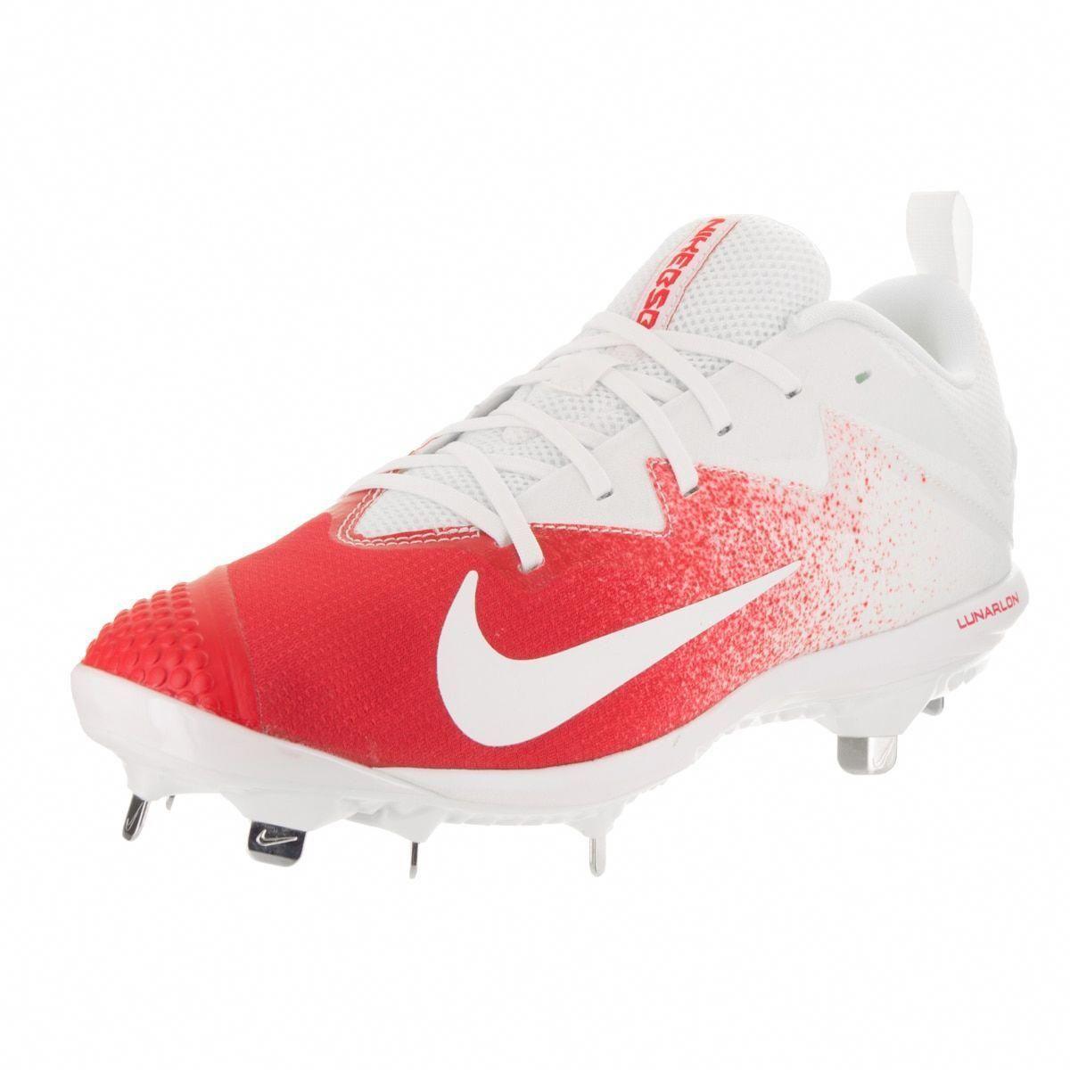 watch f6dcc 1ef26 Nike Men s Lunar Vapor Ultrafly Pro Baseball Cleat (7.5), White   baseballcleats