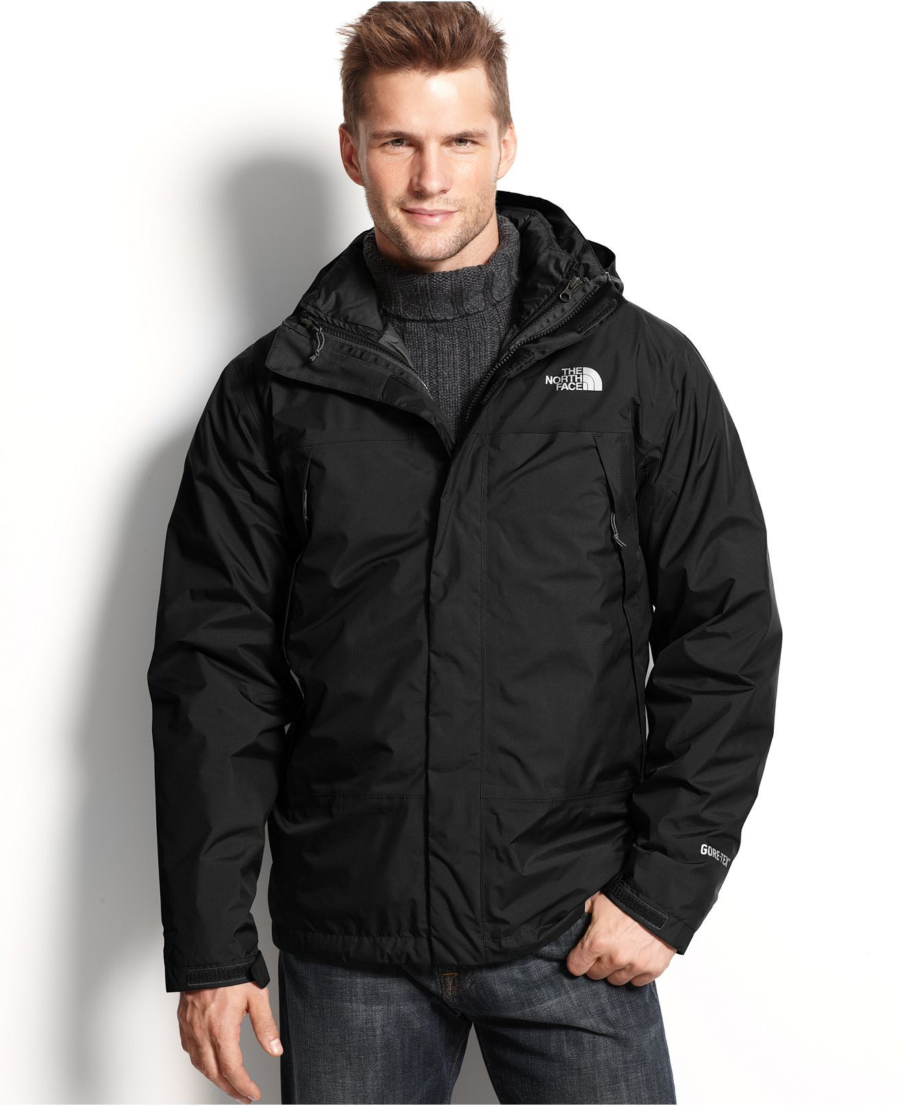 The North Face Jacket Mountain Light Waterproof Gore Tex Triclimate Coats Jackets Men Macy S North Face Jacket Men S Coats And Jackets Mens Jackets [ 1616 x 1320 Pixel ]