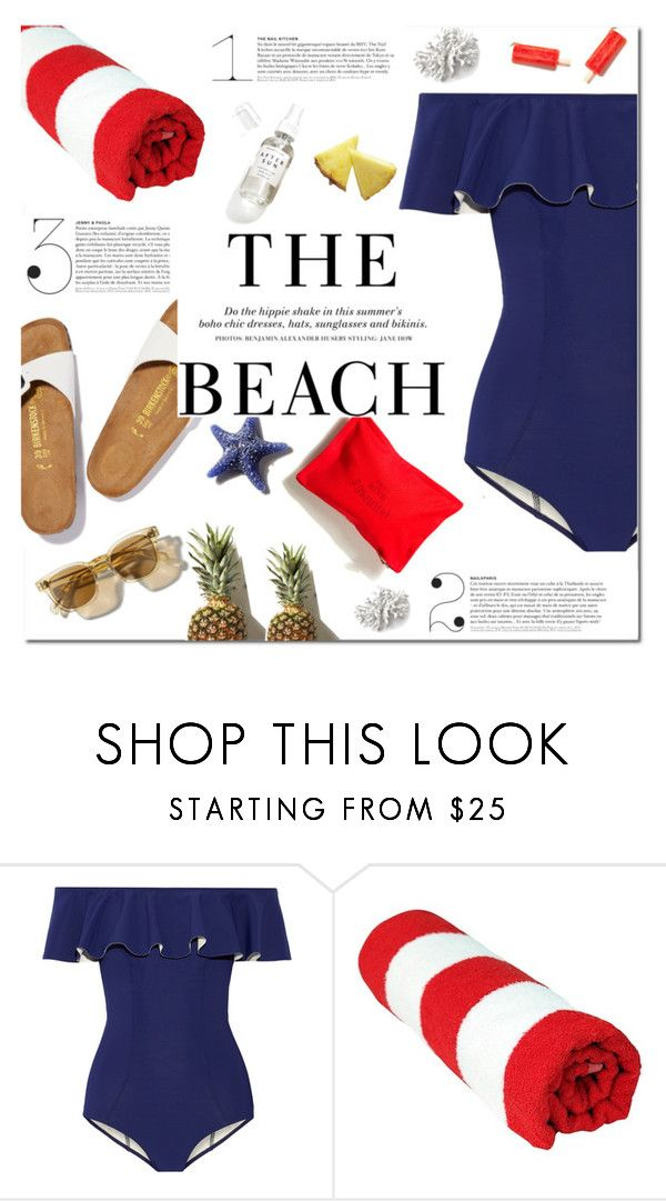 """Steady"" by fee4fashion ❤ liked on Polyvore featuring Lisa Marie Fernandez, Vichy, Herbivore and H&M"