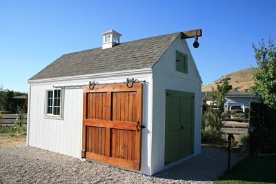 Sheds with sliding barn door sheds in utah that we have for Exterior shed doors design