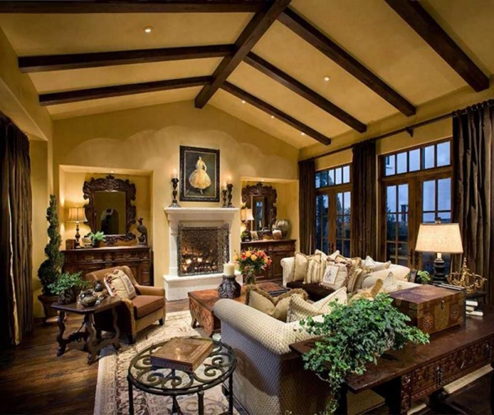 Interior Design, Luxury Rustic House Interior Decor: Cool Rustic Interior  Design Brings Out Natural And Traditional Look