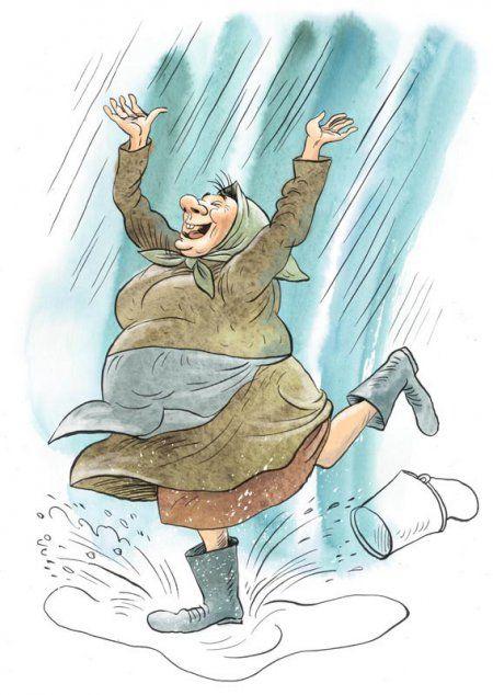 Новые карикатуры Ольги Громовой.