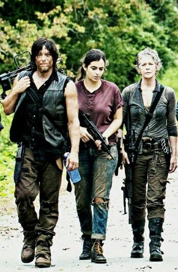 Daryl Tara And Carol The Walking Dead Series E Filmes Filmes