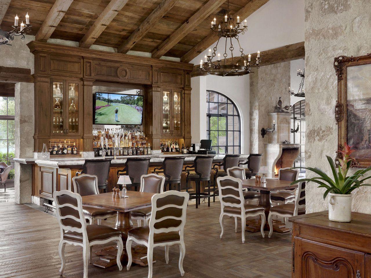 Houston Oaks Club Ryan Street & Associates Club house
