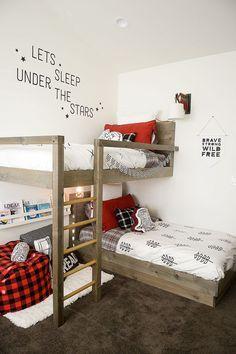 30 стильных двухъярусных кроватей для детской комнаты | | 354x236