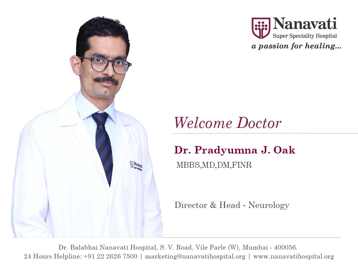 Nanavati Super Speciality Hospital Welcomes Dr  Pradyumna J