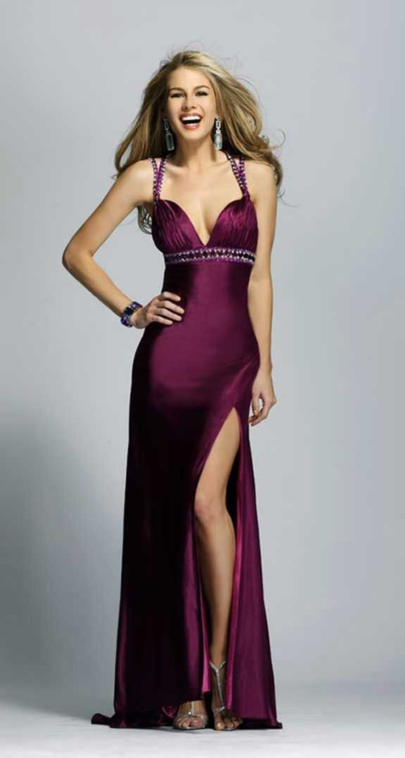 Wine Charmeuse Evening Gown 906 Formal Dresses Pinterest