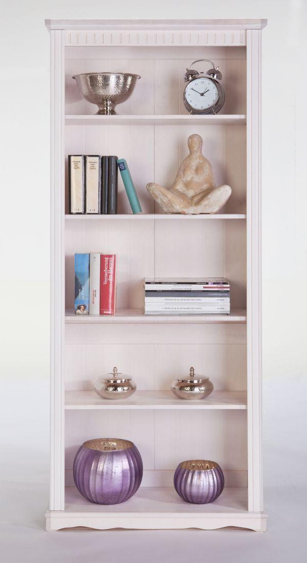 Details zu Bücherregal Kiefer Massiv, Standregal, Regal, Wohnwand ...