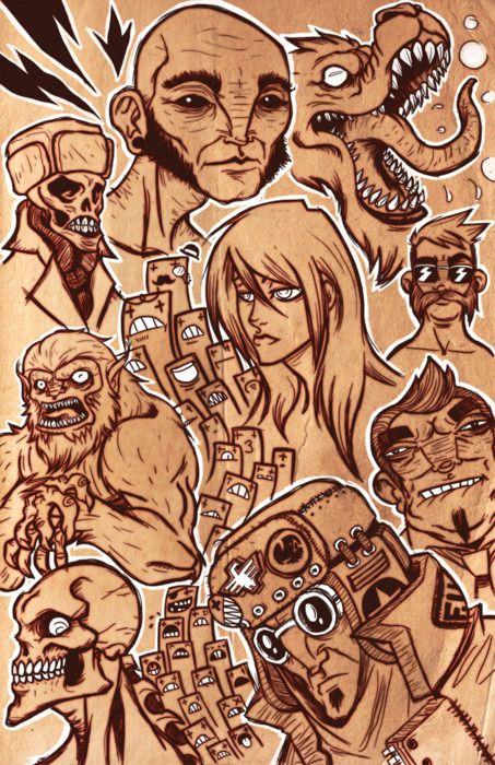 Illustration by Monstrbox, aka Samuel J.Dávila