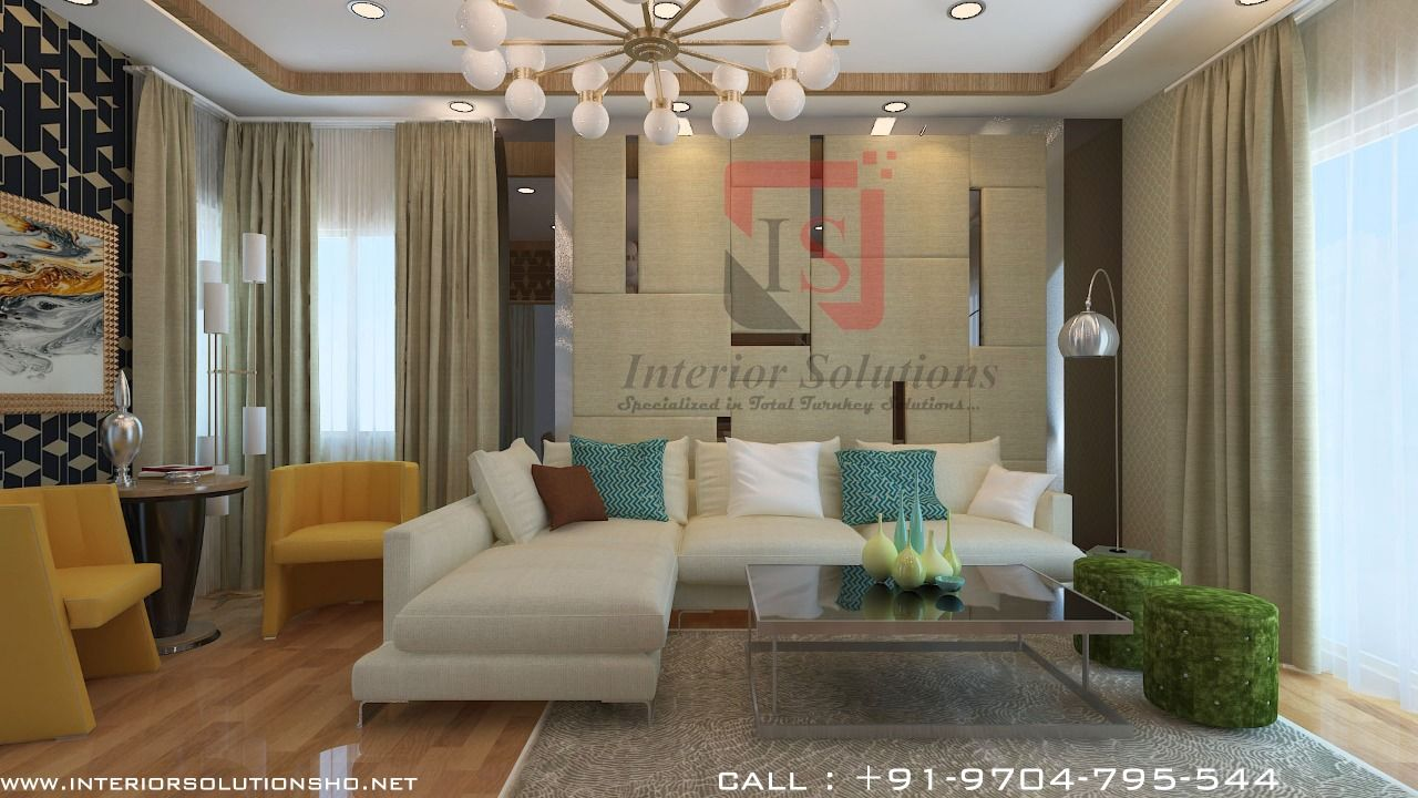 Drawing Room With Interior Solutions Share Your Requirements To