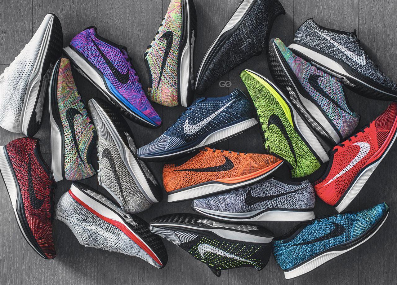 Nike flyknit racer, Running shoes nike