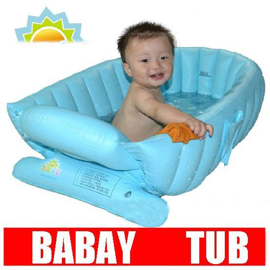 2 Kleuren Nieuwe Opblaasbare Baby Badzachte Opblaasbare Babybadje