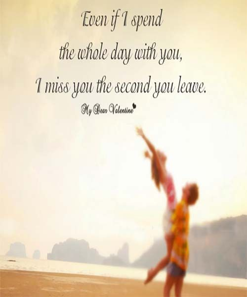 Even if i spend the whole day | *** Love Quotes