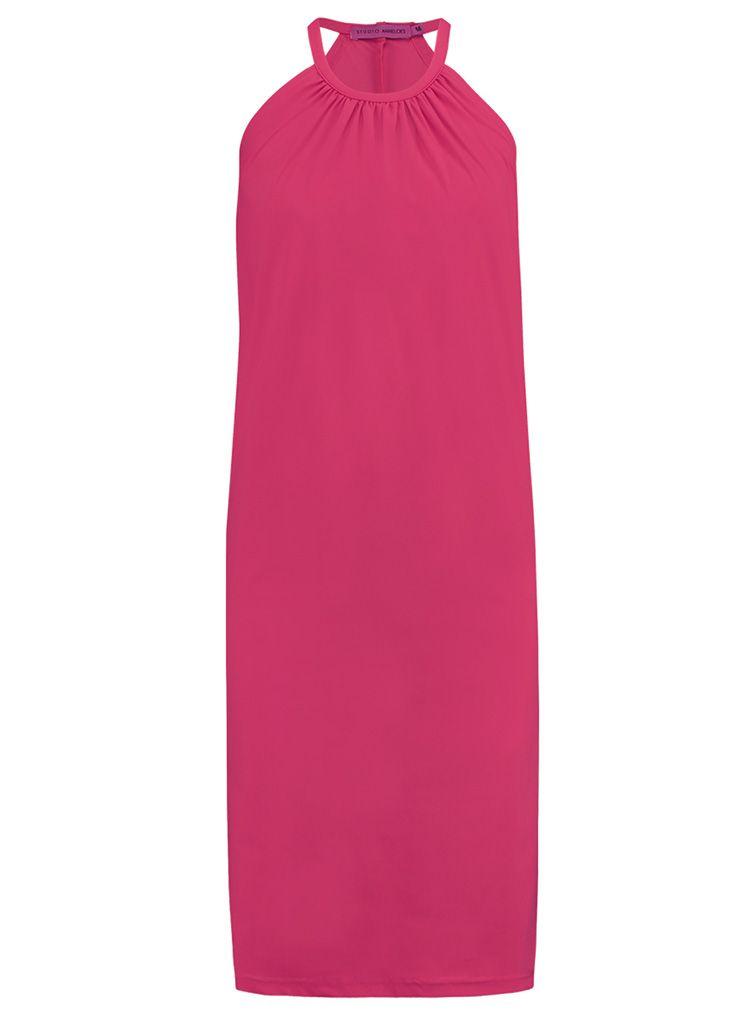 c876206de44e99 Studio Anneloes carla travel dress 01900 Dames kleding Jurken donker rood €  34