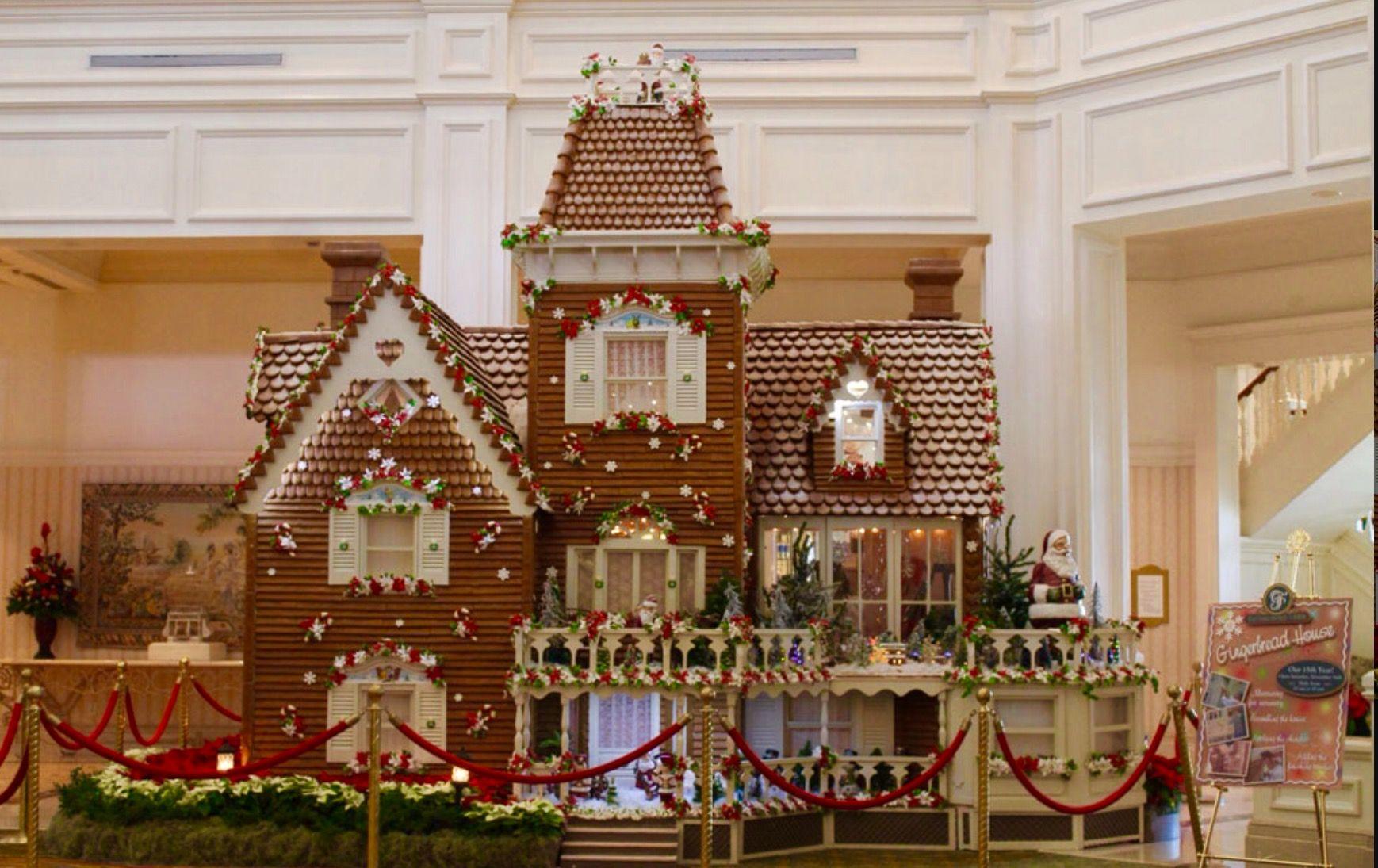 The Grand Floridian Walt Disney World Gingerbread Time