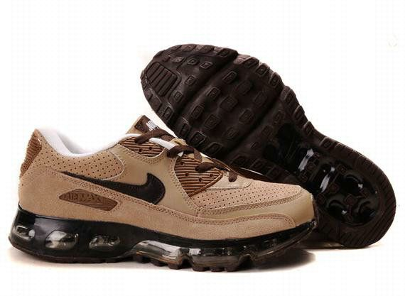 Cheap Men's Nike Air Max 90 & 360 Shoes Cream/Dark Brown/Black 90 & 360  Shoes For Sale from official Nike Shop.