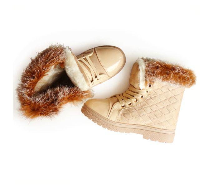673 Botki Sniegowce Trapery Workery Futerko 36 40 Shoes Slippers Fashion