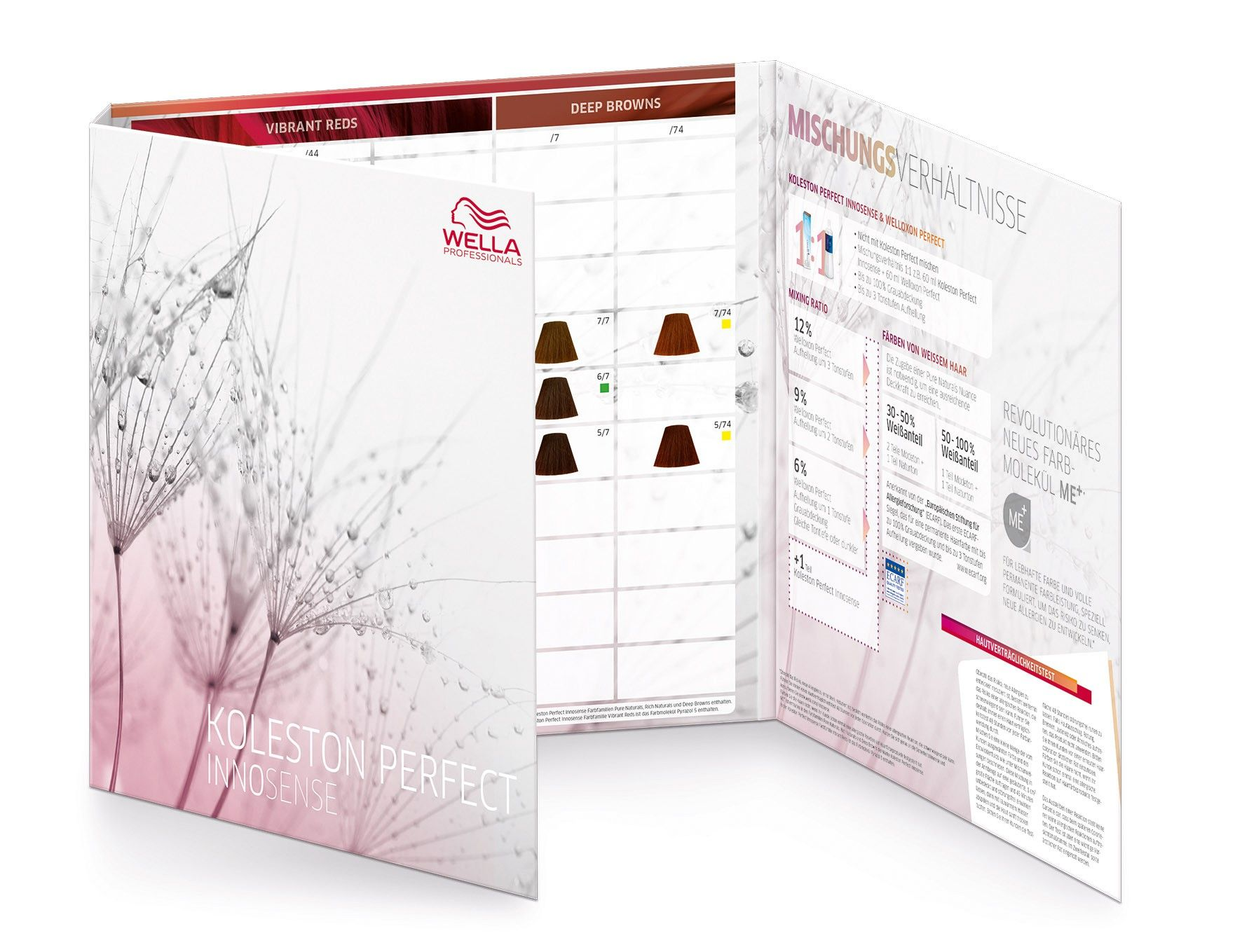 Wella Professionals Koleston Perfect Innosense Color Chart.