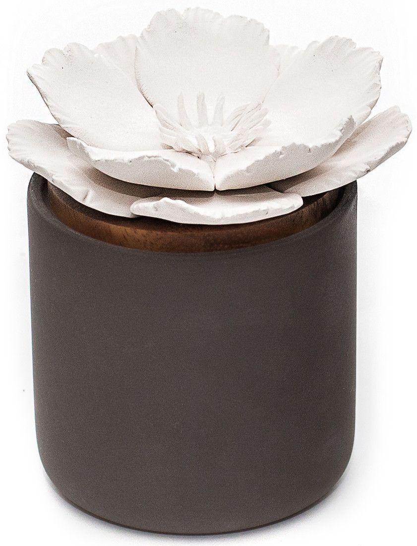 Ceramic Bloom Diffuser Charcoal Essential oil diffuser