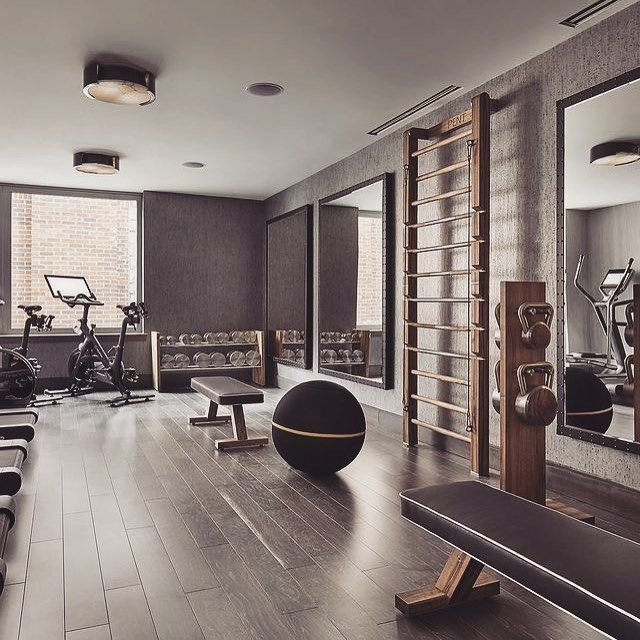 Private gym instructor arriving soon. workout gym room at