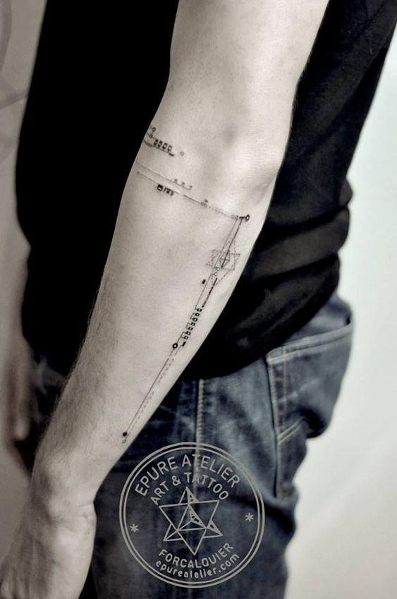 47+ Tatouage geometrique homme avant bras inspirations