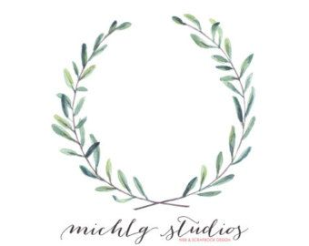 Image Result For Rustic Wreath Clipart Watercolour