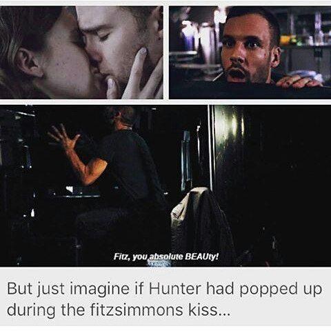 Imagine  #FitzSimmons #AgentsofSHIELD #AoS #LanceHunter #FitzSimmonskiss