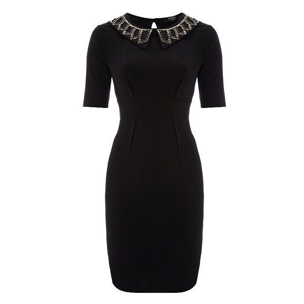 funeral dress for women | ... Christmas party dresses: Black jewel ...