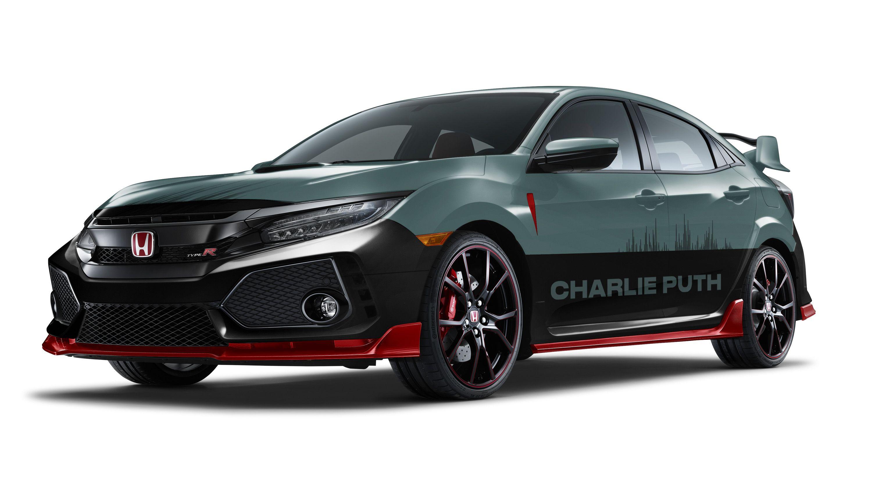 Honda And Charlie Puth Create Special Edition Civic Type R Top Speed Honda Civic Type R Honda Civic Honda