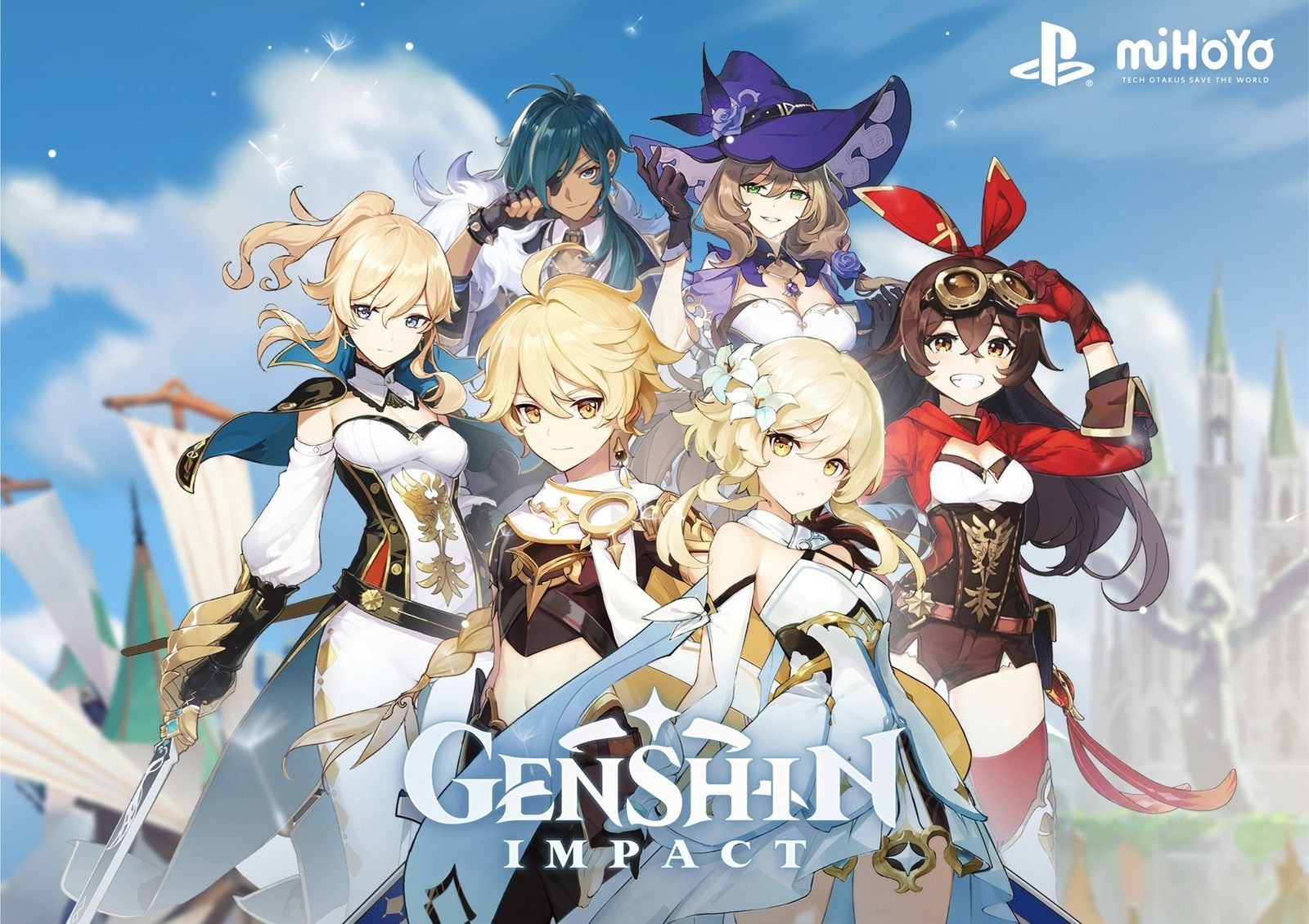 Download Genshin Impact Android Apk Gamestop In 2020 Breath Of The Wild Anime Character Design Animation