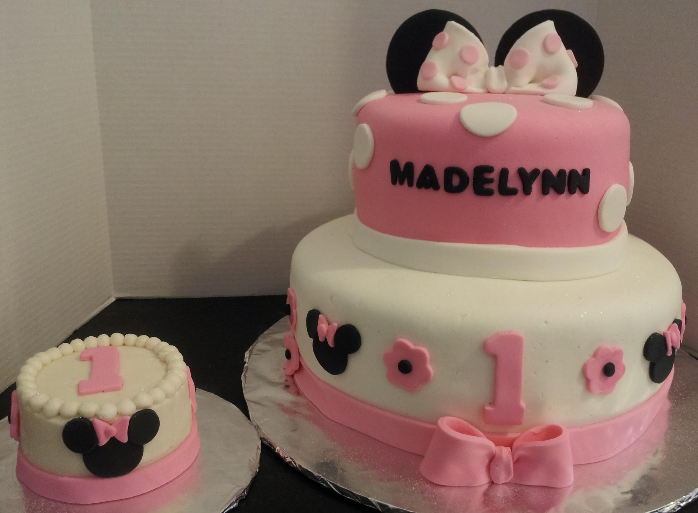 Baby Minnie Cake Decorations meknun