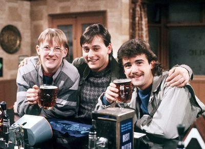 Curly Watts, Terry Duckworth and Kevin Webster 80s Coronation Street