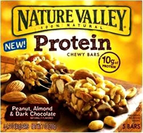 Nature Valley Protein Bars Almond And Dark Chocolate 7 1 Ounce Pack Of 4 By Nature Valley Salted Caramel Nut Chocolate Protein Bars Nature Valley Granola