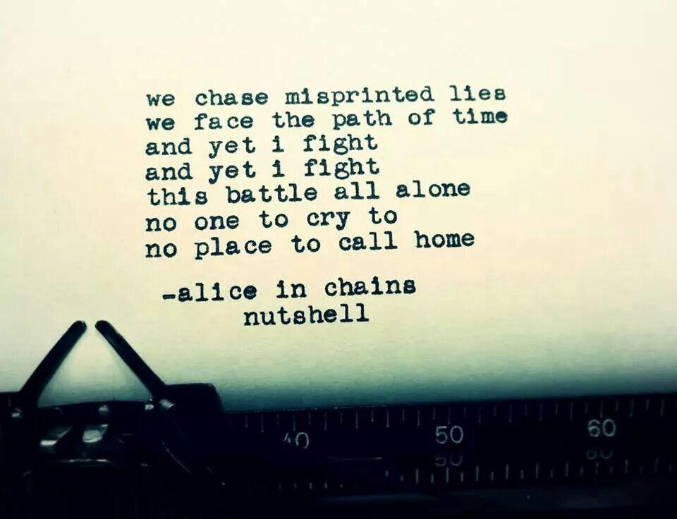 Alice In Chains Would Lyrics - lyricsowl.com