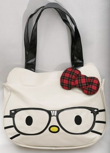 12a3672a9a95 Hello Kitty Nerd bag! Click to buy.  52.00