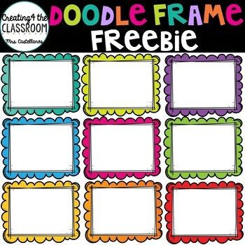 Add some whimsy to your resources with these fun and vibrant frames ...