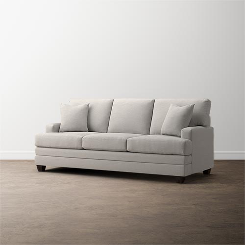 Fabric Sofas And Couches By Bassett Home Furnishings Cushions On Sofa Sofa Fabric Sofa