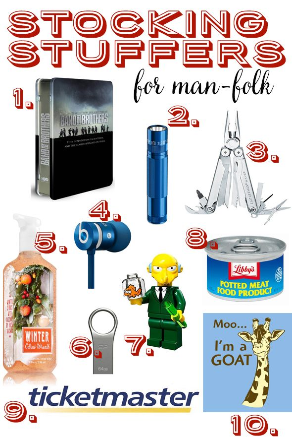 Fun Stocking Stuffers Gift Ideas For Your Favorite Man From Our Best Bites