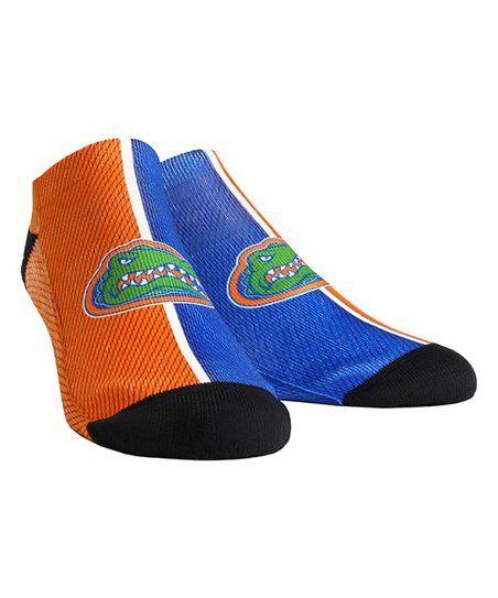 Florida Gators Low Cut Ankle Socks with Tab