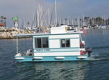 pix for small houseboat plans - Small Houseboat