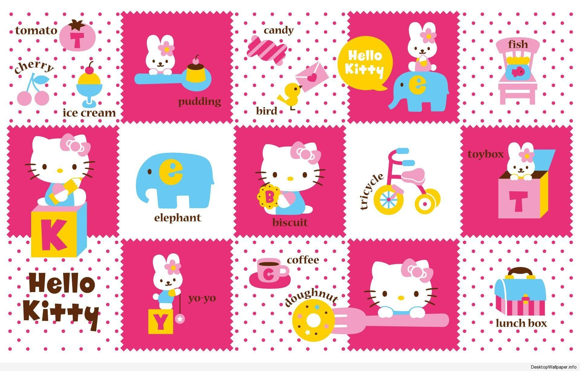 Wallpaper Hello Kitty Untuk Laptop Desktopwallpaper