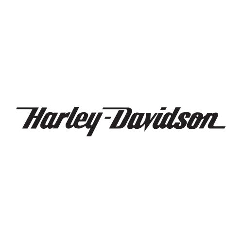 Harley davidson die cut vinyl decal pv1208