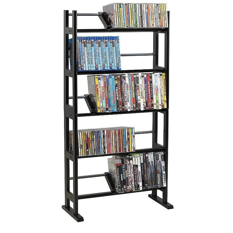 Atlantic Element Multimedia Storage Shelf Media Rack Dvd Rack