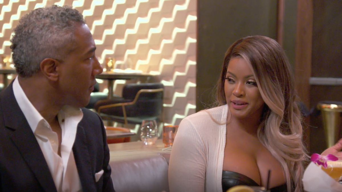 Basketball Wives Fans Are Gushing Over Malaysia S Date With Silver Fox Basketball Wives Silver Fox Black Girl Magic