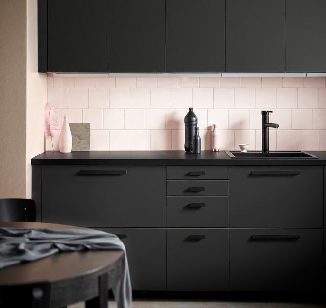 """Neu Bei Ikea : Küchenfront """"Kungsbacka"""" Aus Recycelten Pet"""