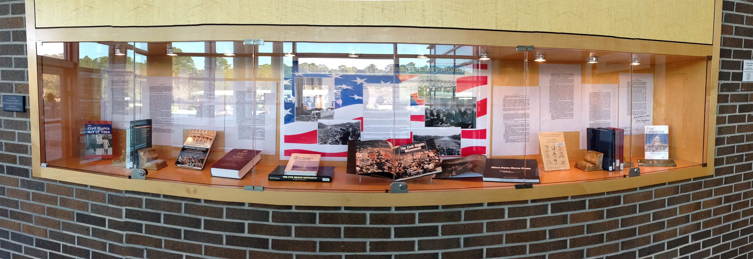 Unf Library Exhibit National African American History Month