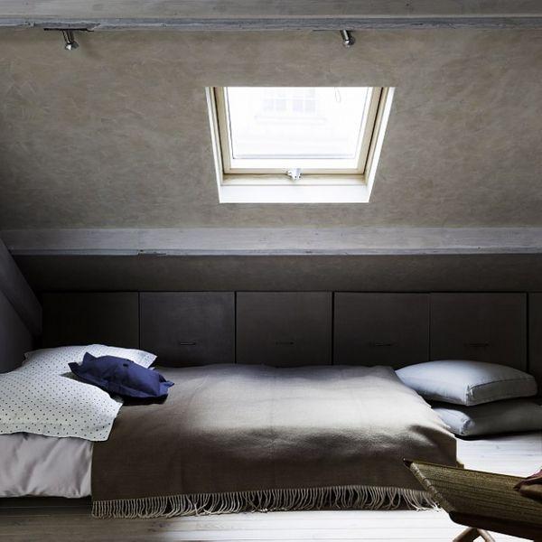 Installer Une Chambre Sous Les Toits : 9 Photos Pour Aménager Une