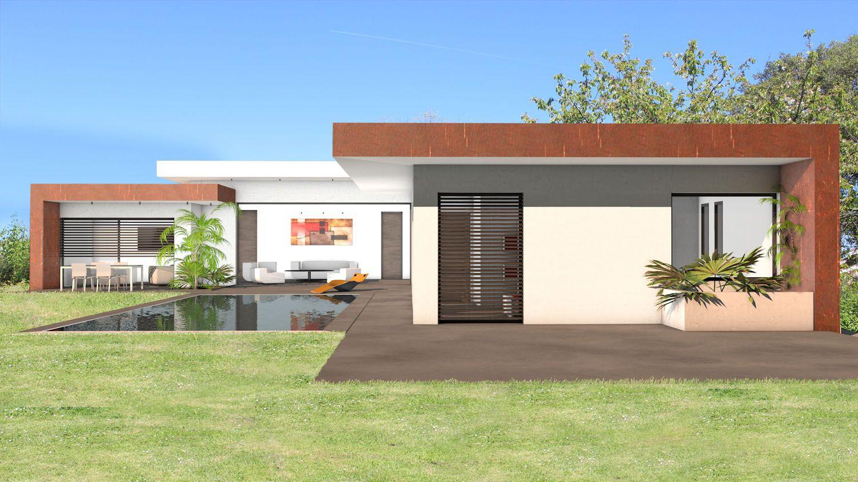 Atelier d\'architecture Scénario - Villa d\'exception à toit terrasse ...