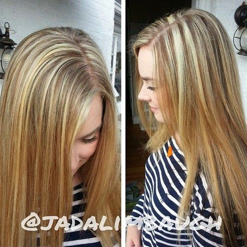 Hair Color Ideas For Blondes Lowlights : 45 ideas for light brown hair with highlights and lowlights best