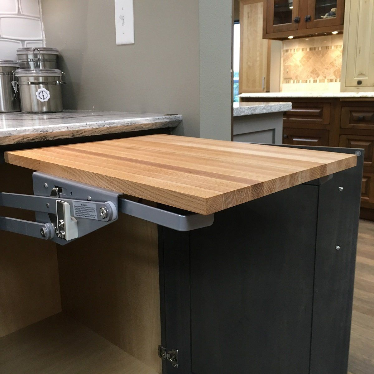 Wood Shelf Platform Only 3 4 X 15 X 19 For Revashelf Rasmlhdcr Heavy Duty Mixer Lift Red Oak Butcher Block Tr Wood Shelves Red Oak Small Kitchen Appliances